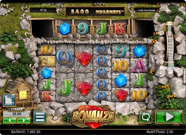 играть бесплатно онлайн в bonanza