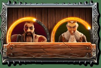 два викинга из игрового автомата vikings go berzerk